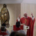 Em homilia, Papa fala da vida de oração de Jesus
