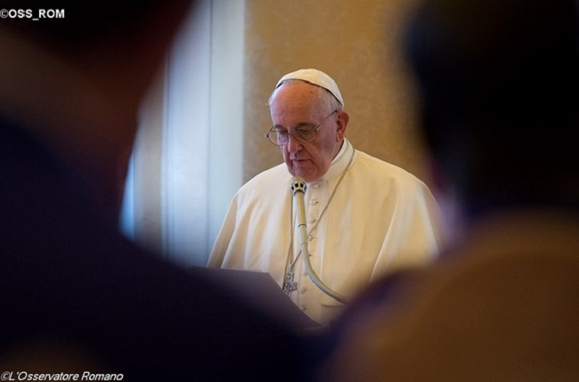 Papa dá orientações para a Pastoral Vocacional