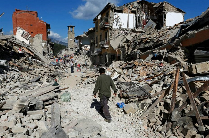 No Advento, Santo Padre pode visitar região destruída por terremoto