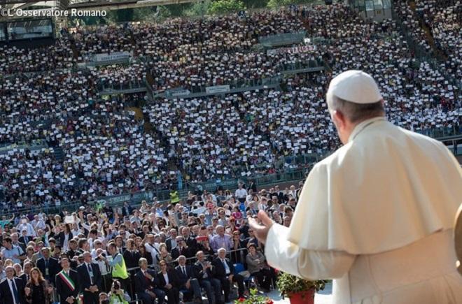 RCC celebra seu Jubileu de Ouro em Roma com Francisco