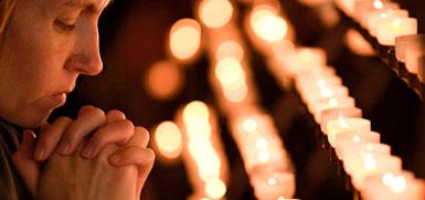 Vela e Pedido de Oração