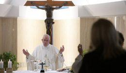 Papa: ser bom pastor é ter a capacidade de se comover