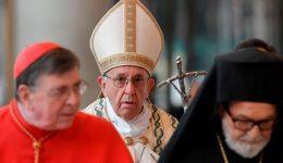 Papa presidiu as Segundas Vésperas na solenidade da conversão de São Paulo