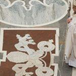 Calendário das celebrações do Santo Padre em abril e maio