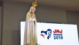 Imagem de Nossa Senhora de Fátima estará presente na JMJ do Panamá