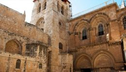 Assinam acordo para reestruturação do Santo Sepulcro
