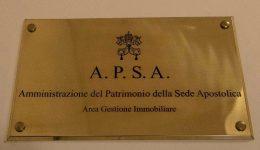 Nomeação do Papa para secretaria da Apsa